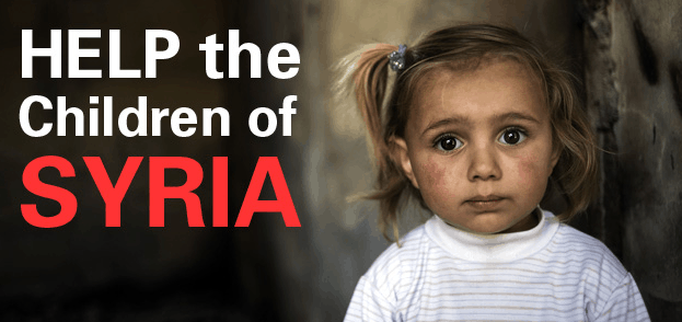 Help the children of Syria - Print