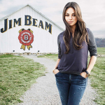 Print - Mila Kunis for Jim Beam