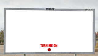 Free vibrator - interactive advert