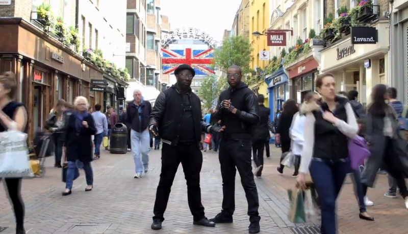 Episode - Random Acts Channel 4, Street Magician