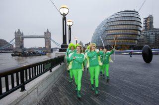 Green Cupids stunt London
