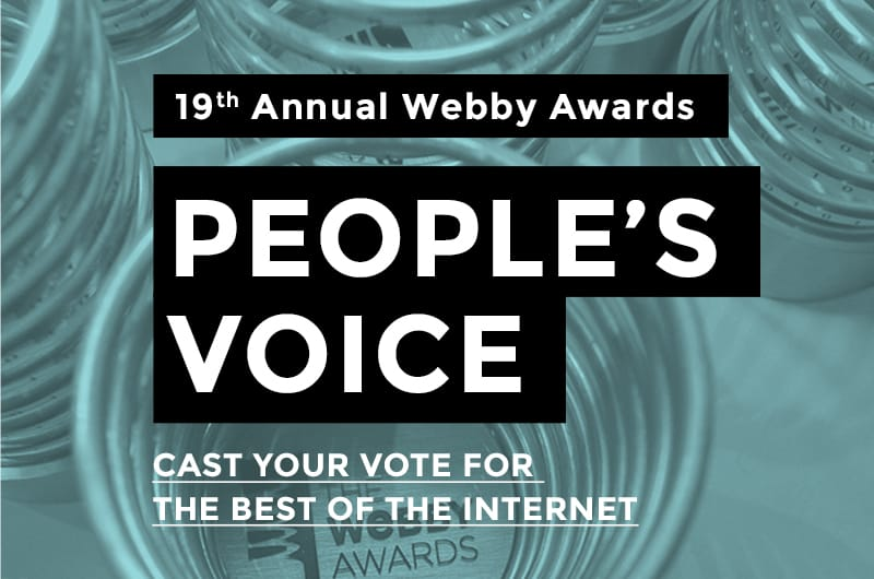 dont panic webby peoples voice awards 2015