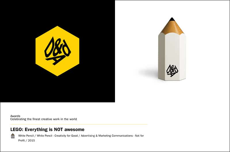 dandad-d&ad-dont panic-white pencil-greenpeace-lego-shell-advertising agency london-creative agency london