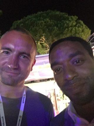 Joe Wade and Chiwetel Ejiofor