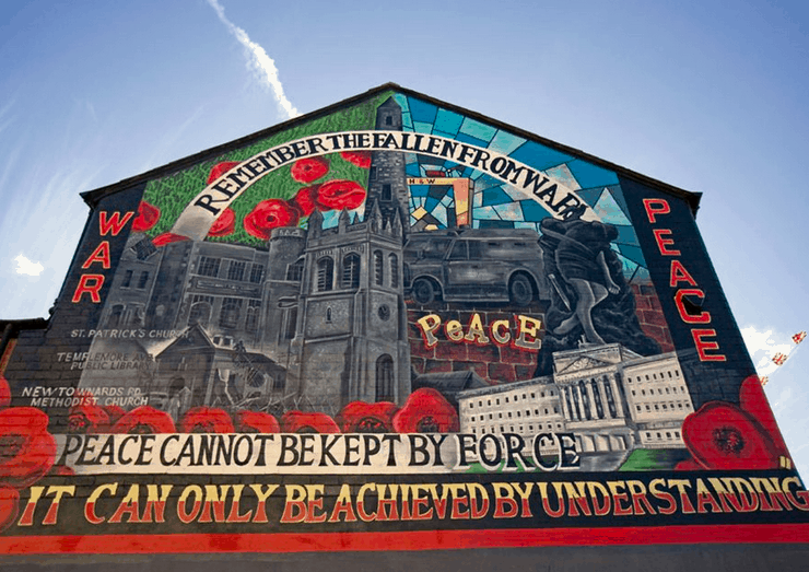 Northern Ireland murals