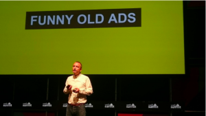 OUR MD TELLS WEB SUMMIT 'ADS AREN'T FUNNY ANYMORE'