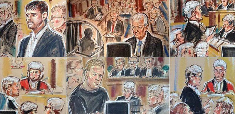 Britain's first televised murder trial