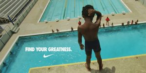 "Nike's London Olympics campaign, ""Find your Greatness"""